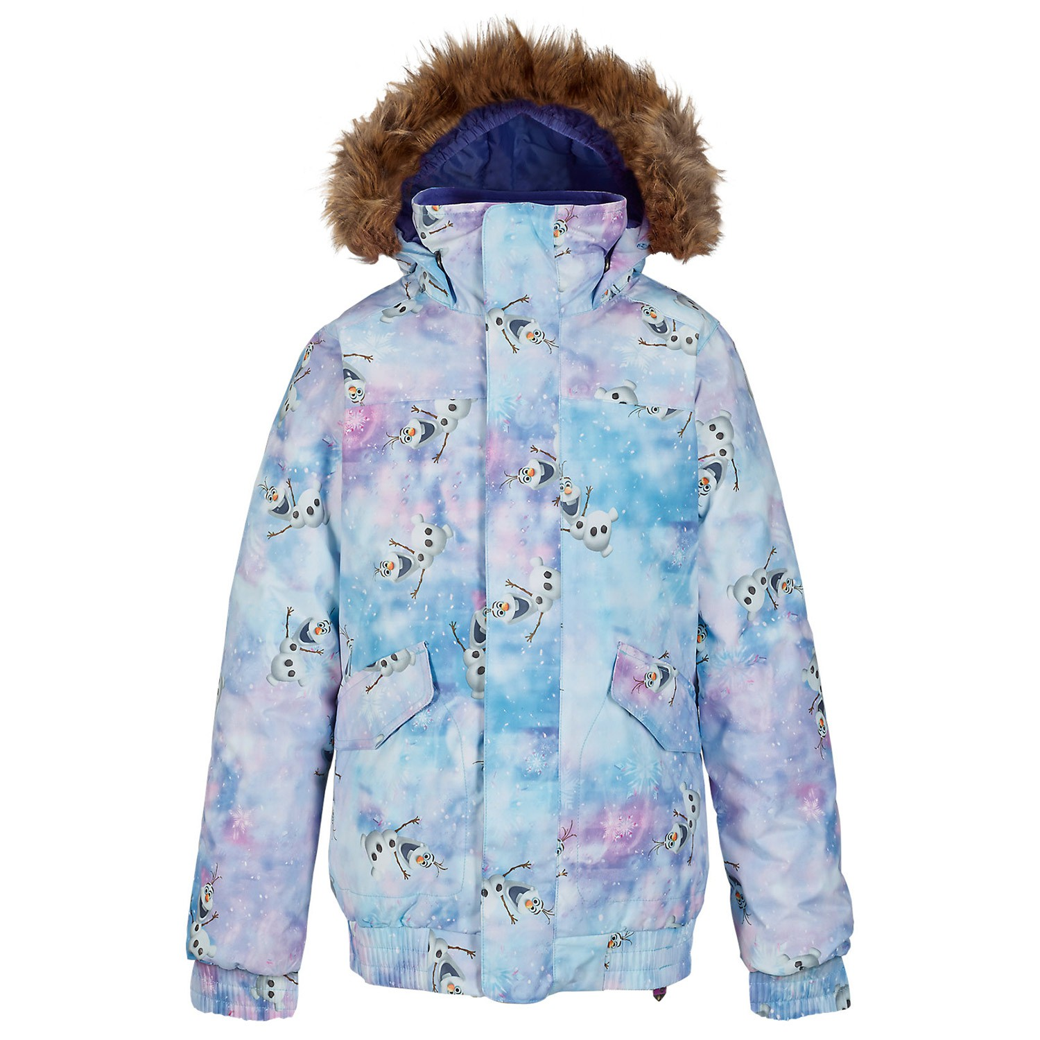Bunda Burton Girls Twist Bomber olaf frozen print disney