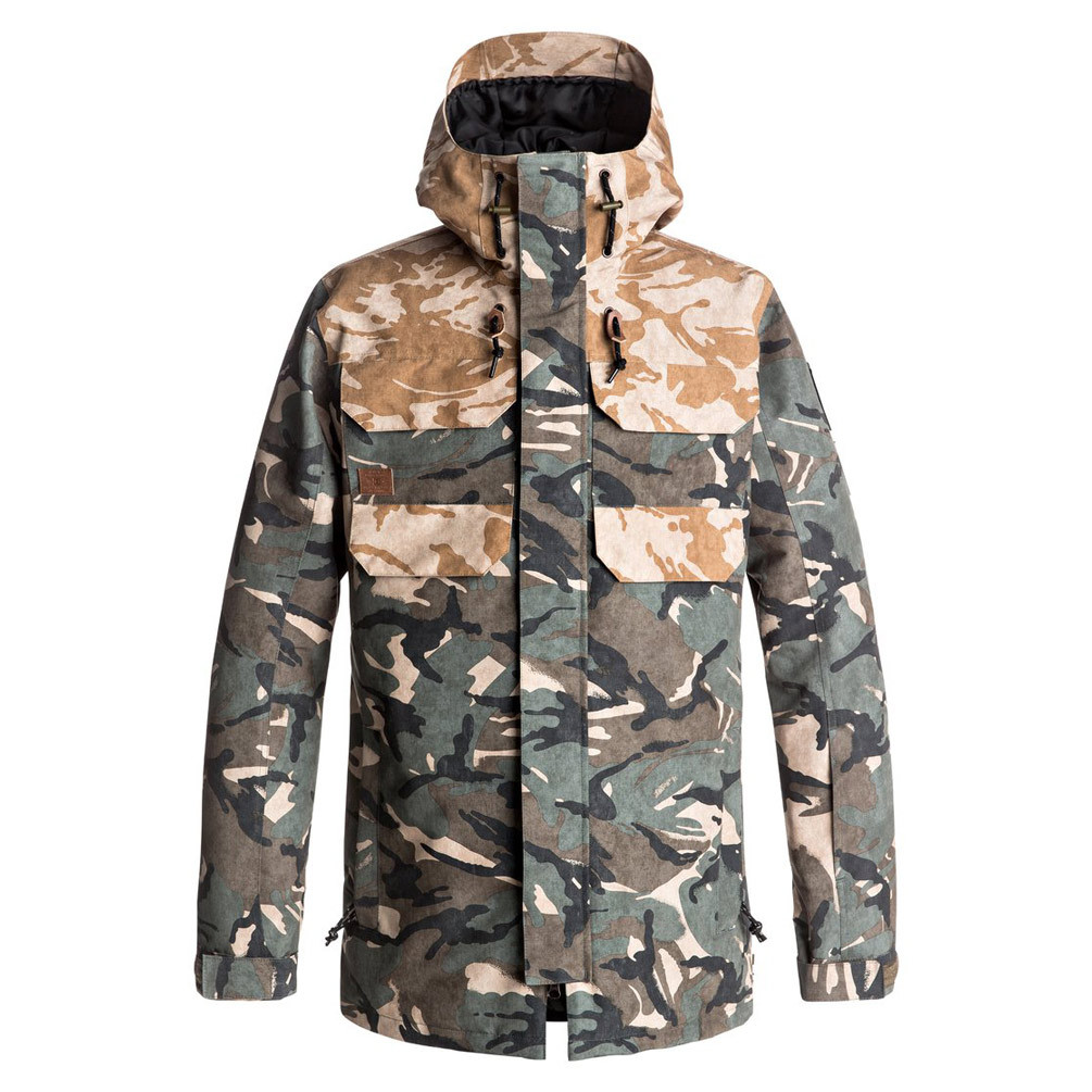 Bunda DC Haven british woodland camo
