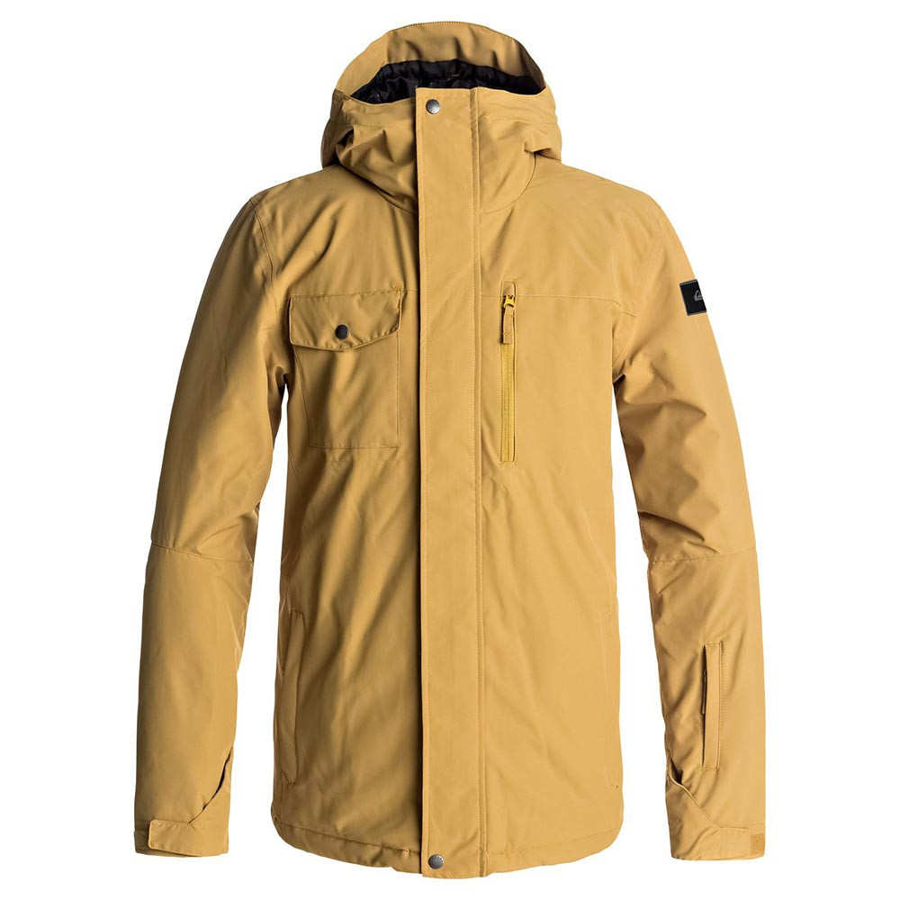 Bunda Quiksilver Mission Solid mustard gold