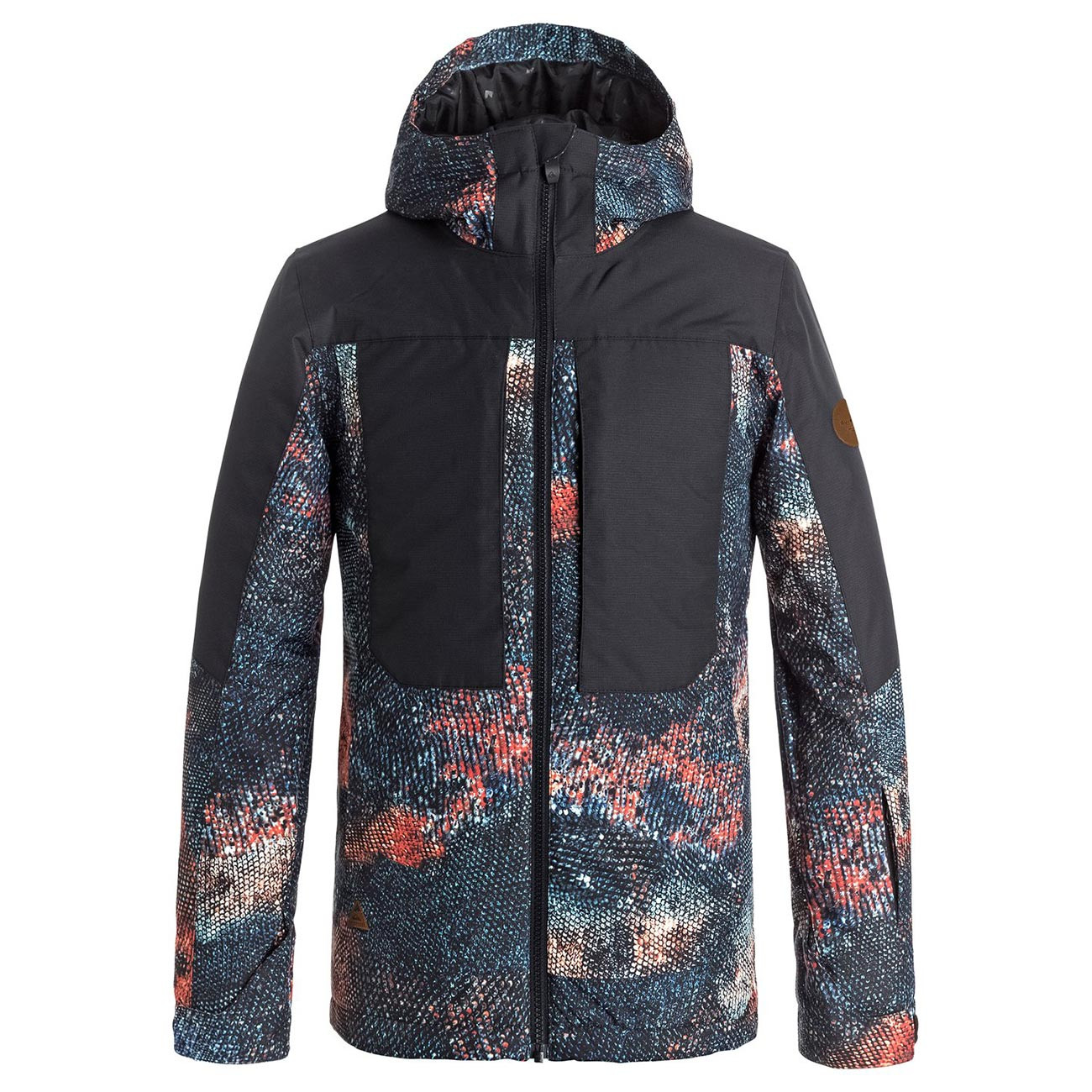 Bunda Quiksilver Tr Ambition Youth marine iguana real