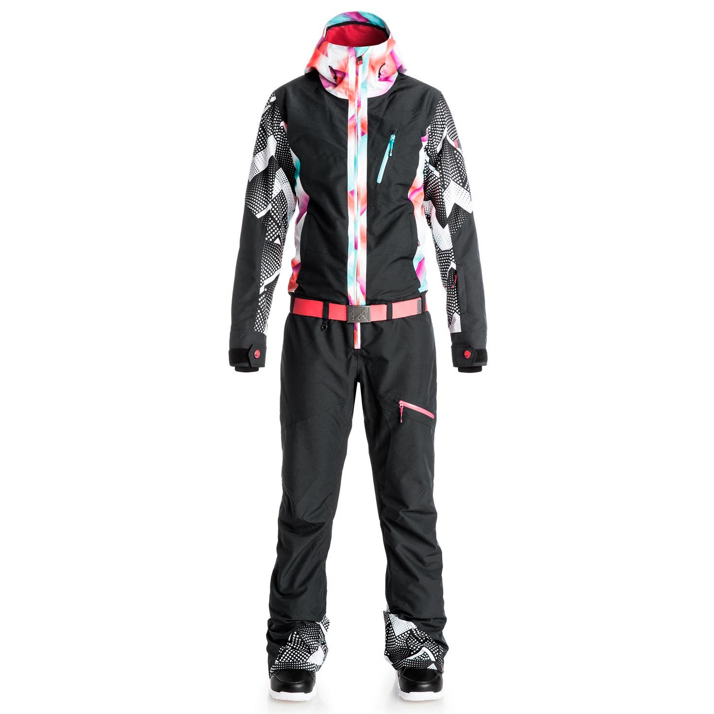 Bunda Roxy Impression Suit Pop Snow true black