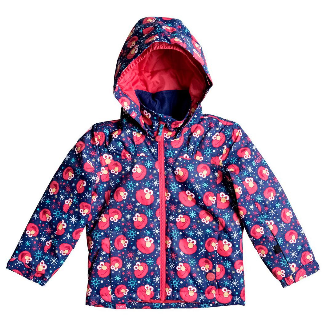 Bunda Roxy Mini Jetty elmo print blueprint