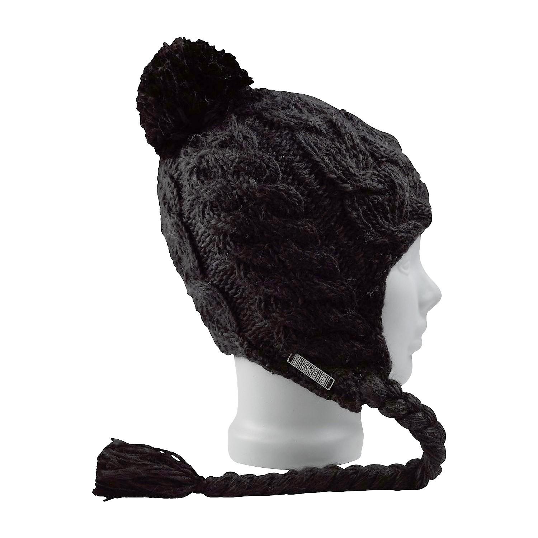Zimní čepice Burton Breanie Earflap true black