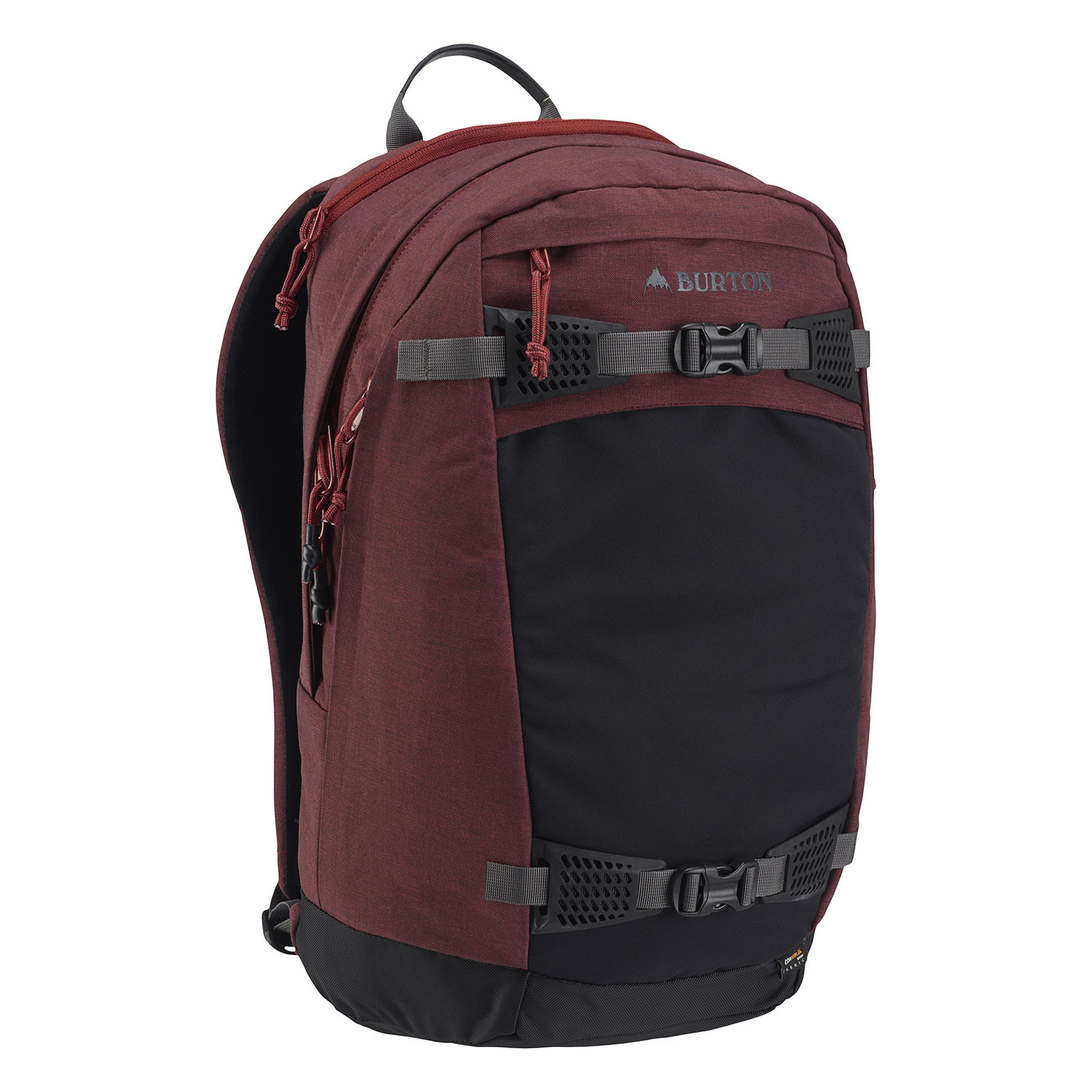 Batoh na snowboard Burton Day Hiker 28L fired brick heather