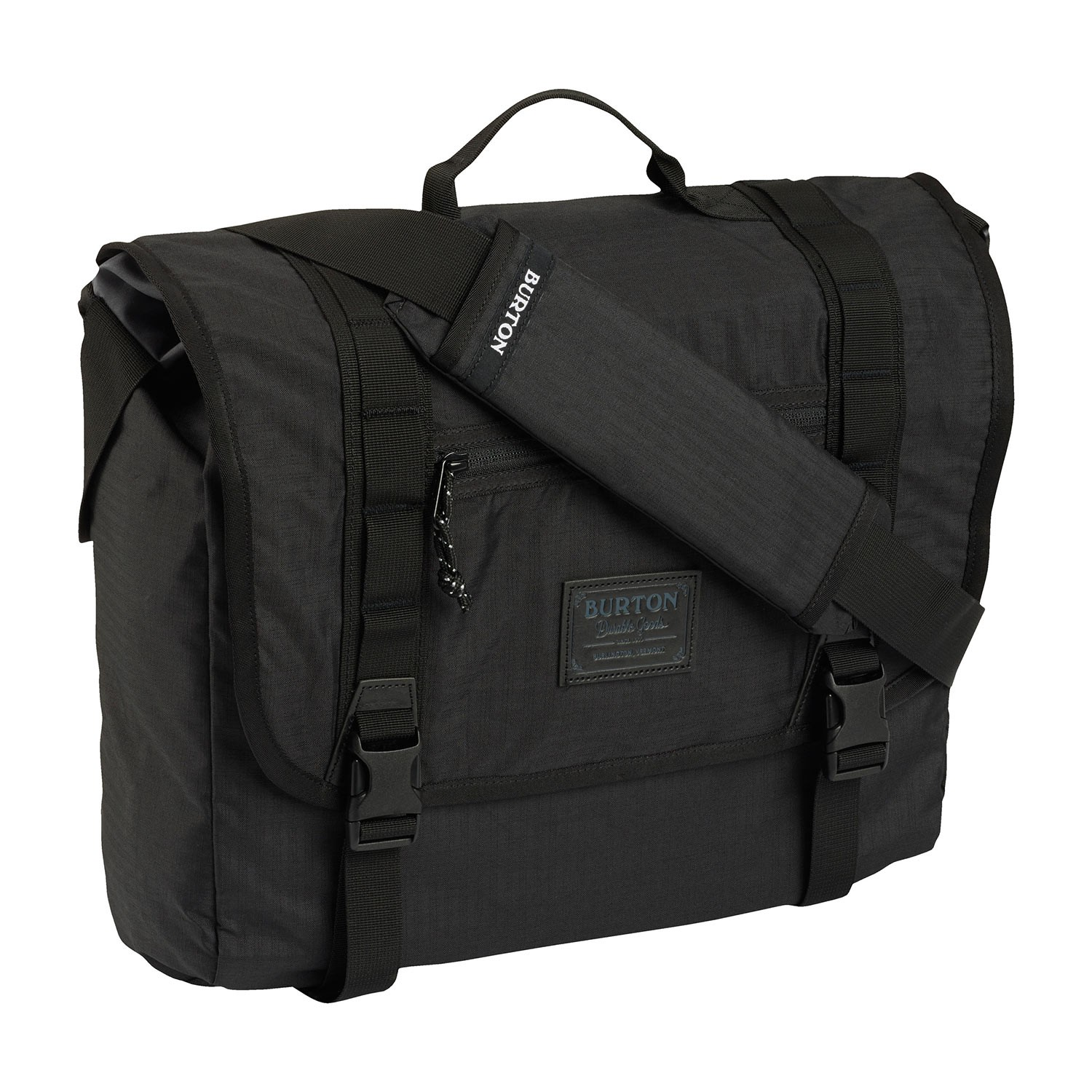 Messenger Burton Flint Messenger true black triple ripstop