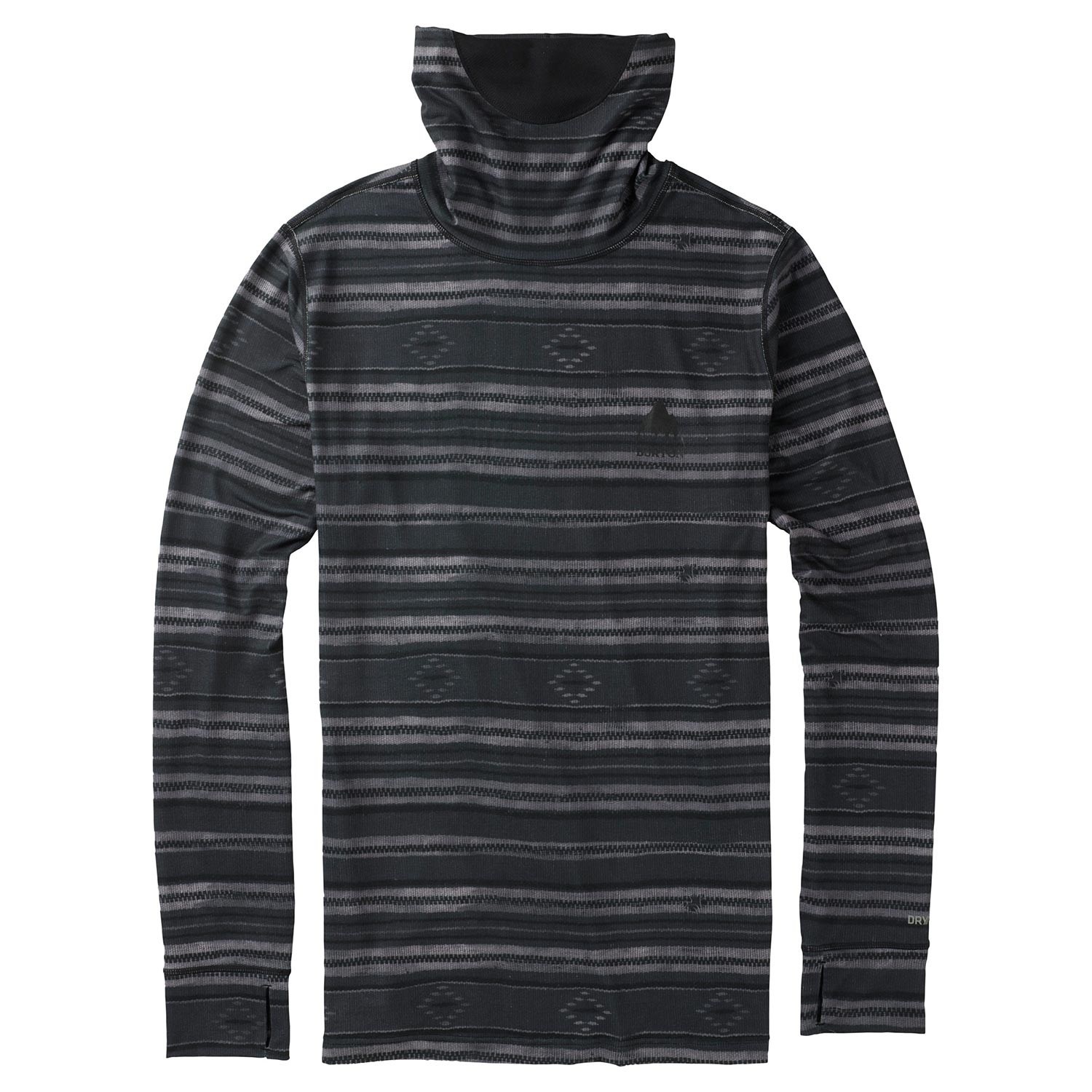 Triko Burton Midweight Long Neck faded stag stripe