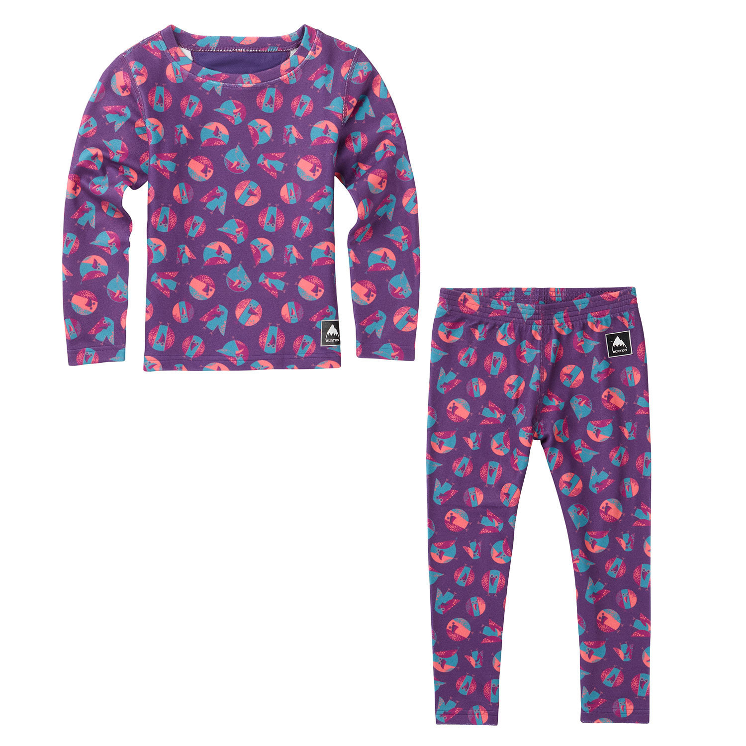 Burton Minishred Fleece Set birds