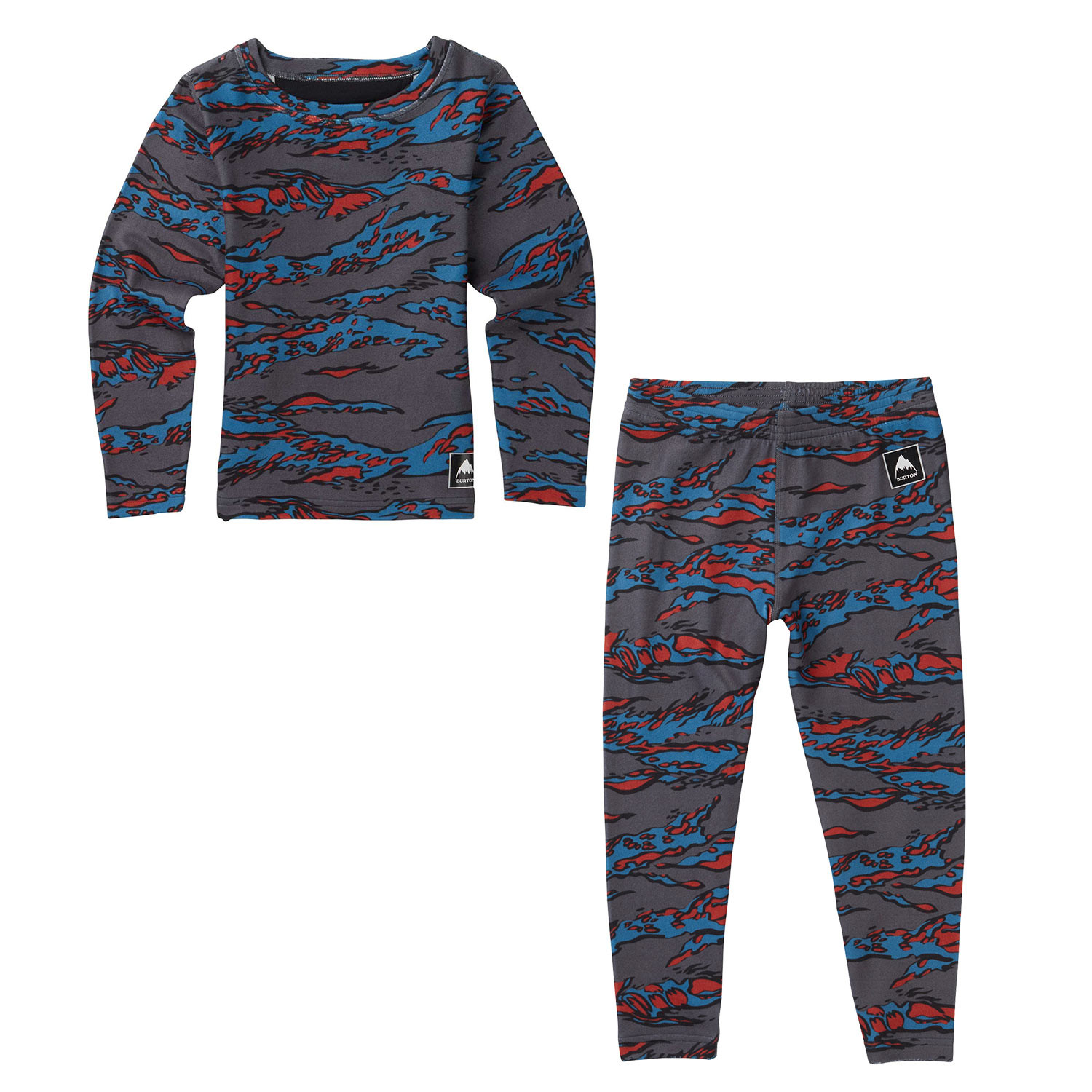 Burton Minishred Fleece Set bitters beast camo