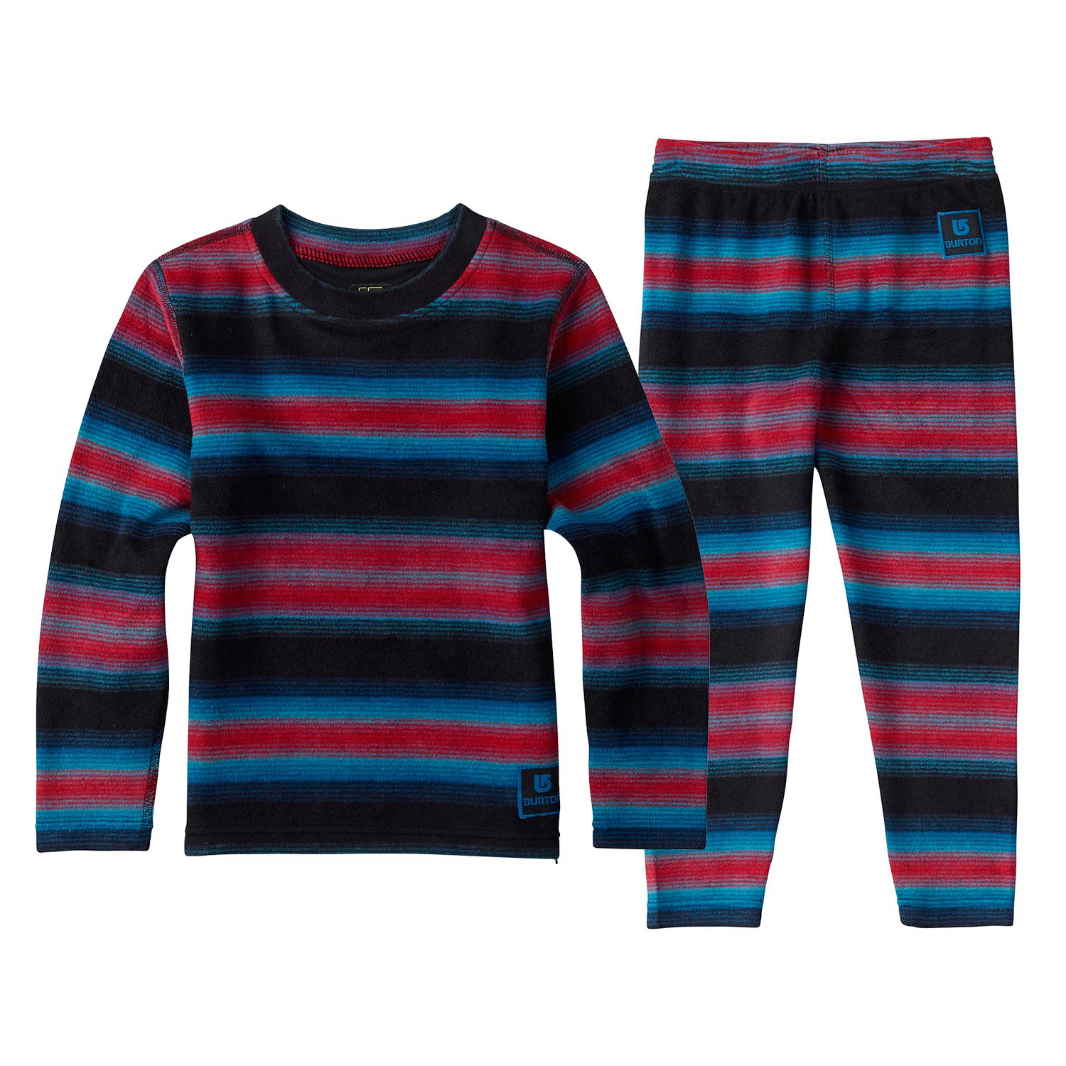 Triko Burton Minishred Fleece Set seaside stripe