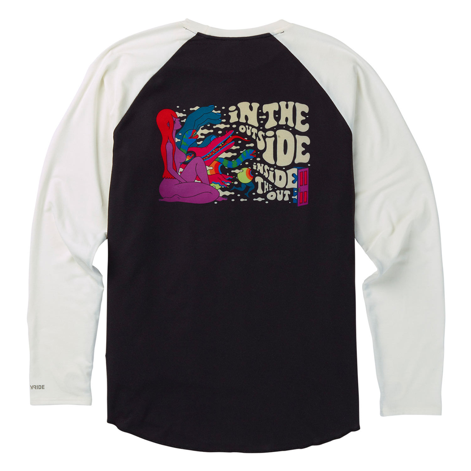 Triko Burton Roadie Tech Tee inside out
