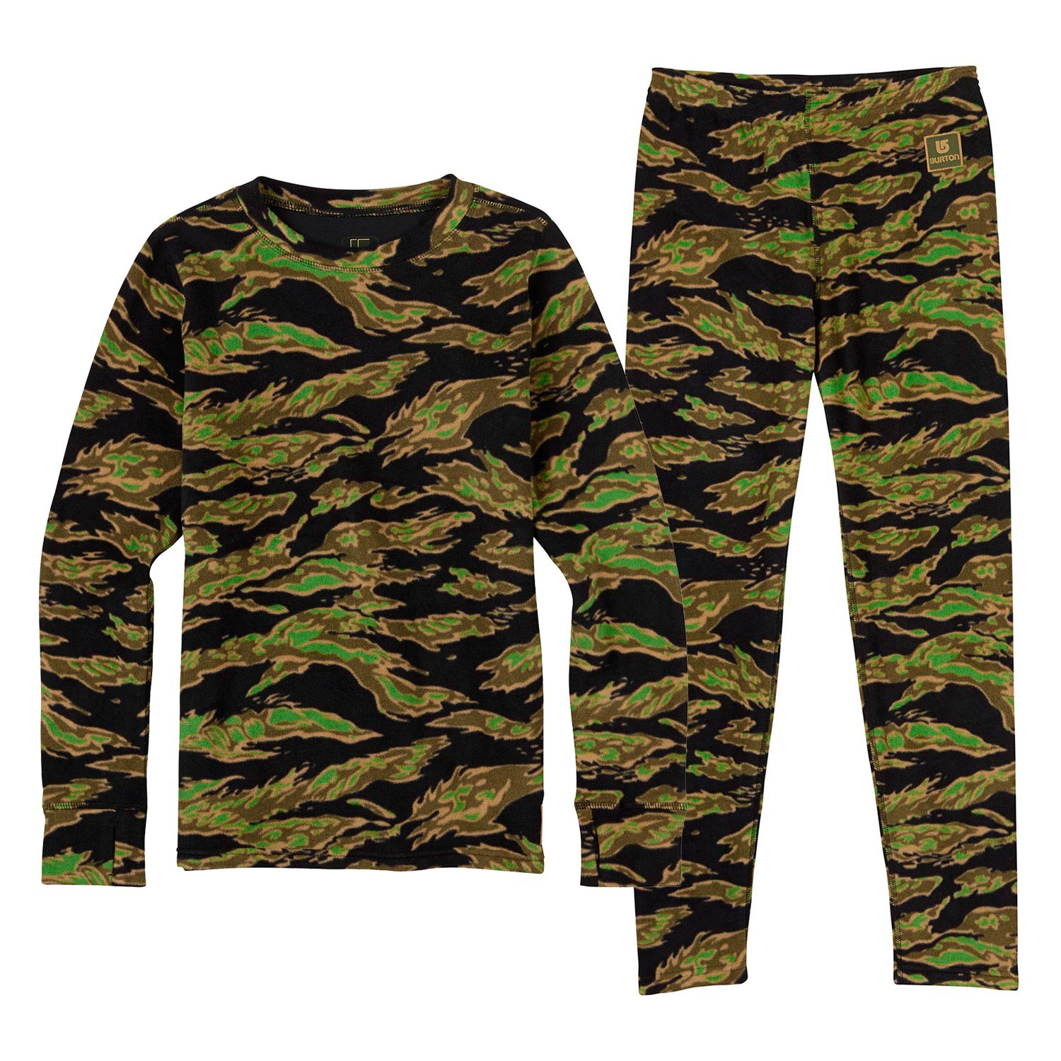 Triko Burton Youth Fleece Set beast camo