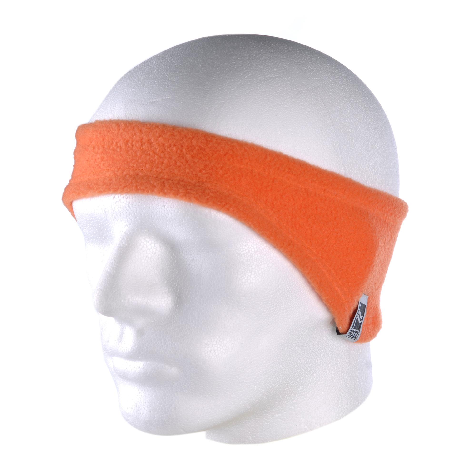 Zimní čepice NXTZ Fleece Earband orange 11/12 + doručení do 24 hodin