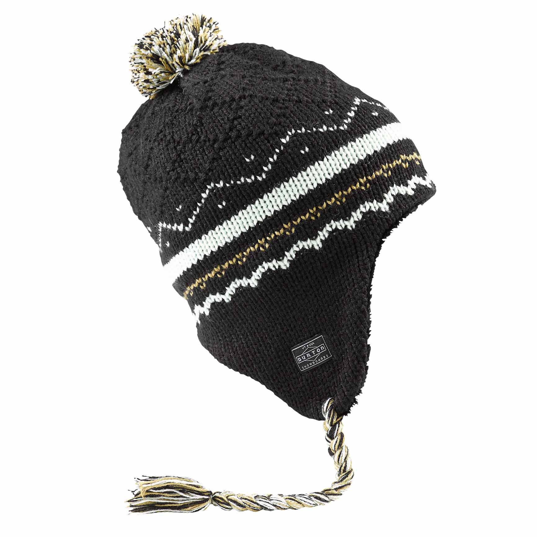 Zimní čepice Burton Cocoa Earflap true black