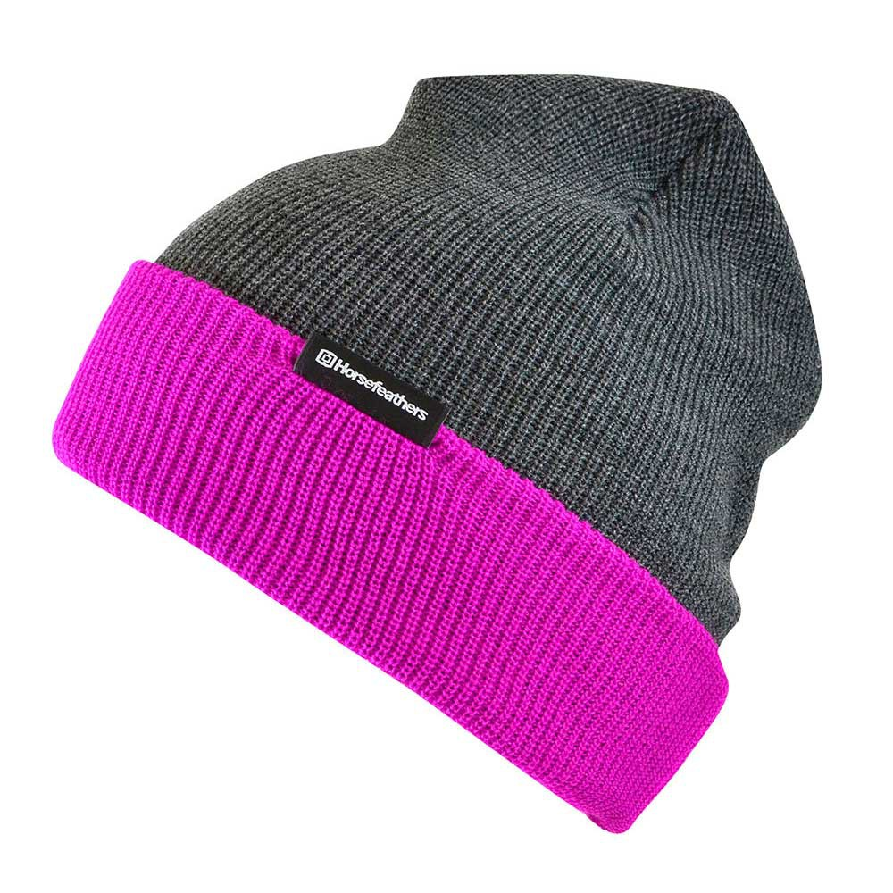 Zimní čepice Horsefeathers Way pink