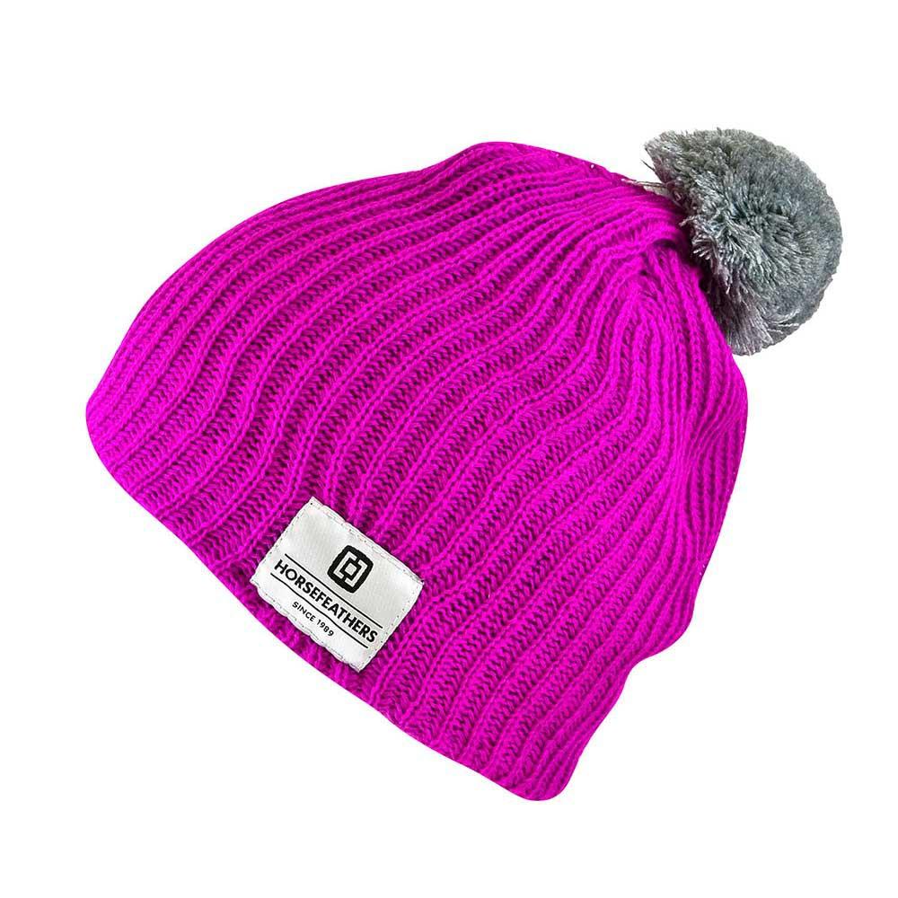 Zimní čepice Horsefeathers Wrrr pink