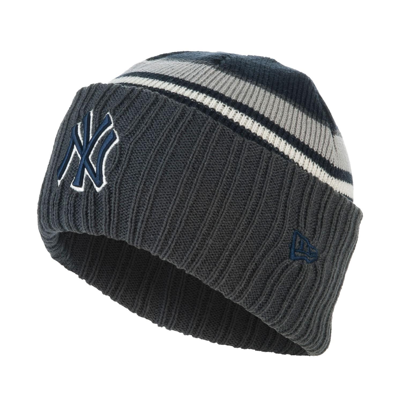 Zimní čepice New Era New York Yenkees Emeaprepclass grey/blue 14/15 + doručení do 24 hodin