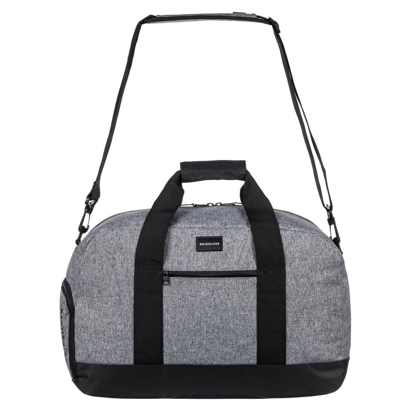 Cestovní taška Quiksilver Medium Shelter light grey heather