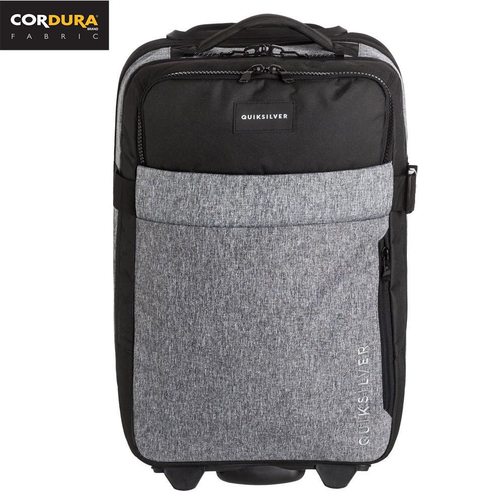 Cestovní taška Quiksilver New Horizon light grey heather