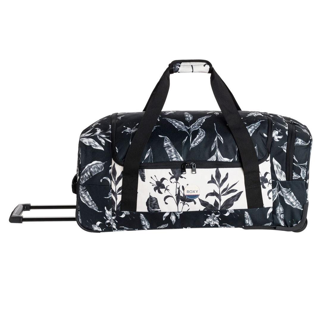 Cestovní taška Roxy Distance Accross anthracite love letter