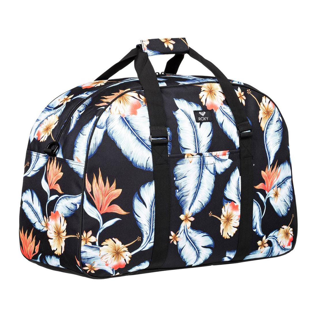 c7c3d3e83a Cestovní taška Roxy Feel Happy Big anthracite tropical love s ...
