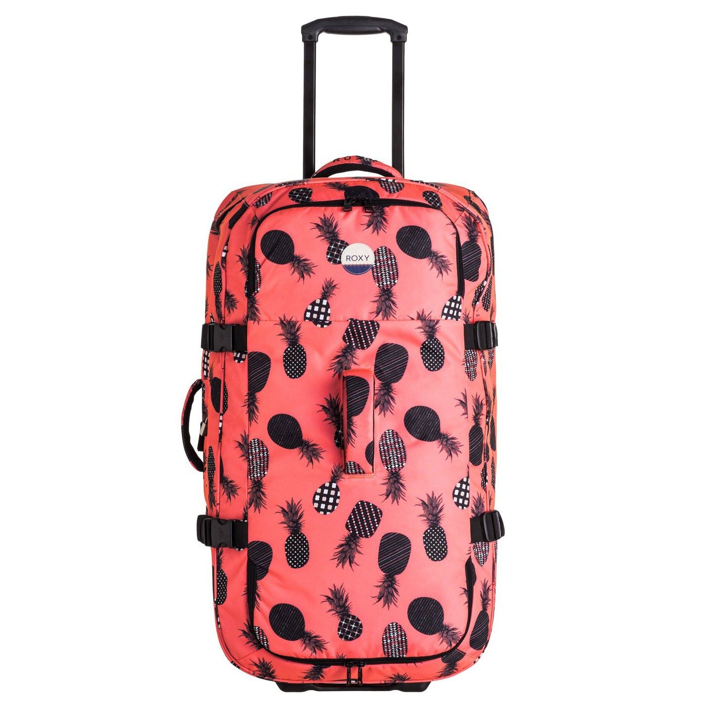 Cestovní taška Roxy Long Haul ax neon grapefruit pineapple dot vel.125L 78×37×42 cm 17 + doručení do 24 hodin