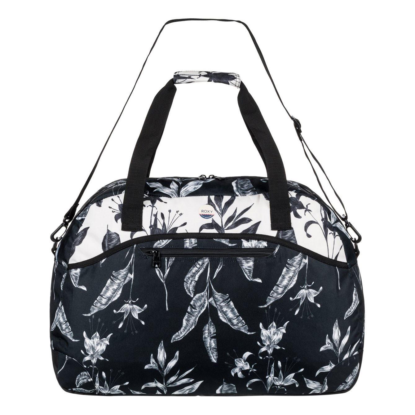 Cestovní taška Roxy Too Far anthracite love letter