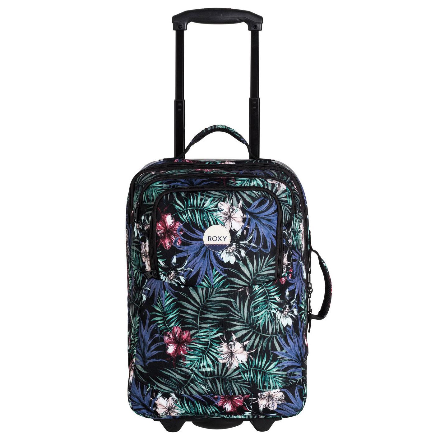 Cestovní taška Roxy Wheelie anthracite swim belharra flowe