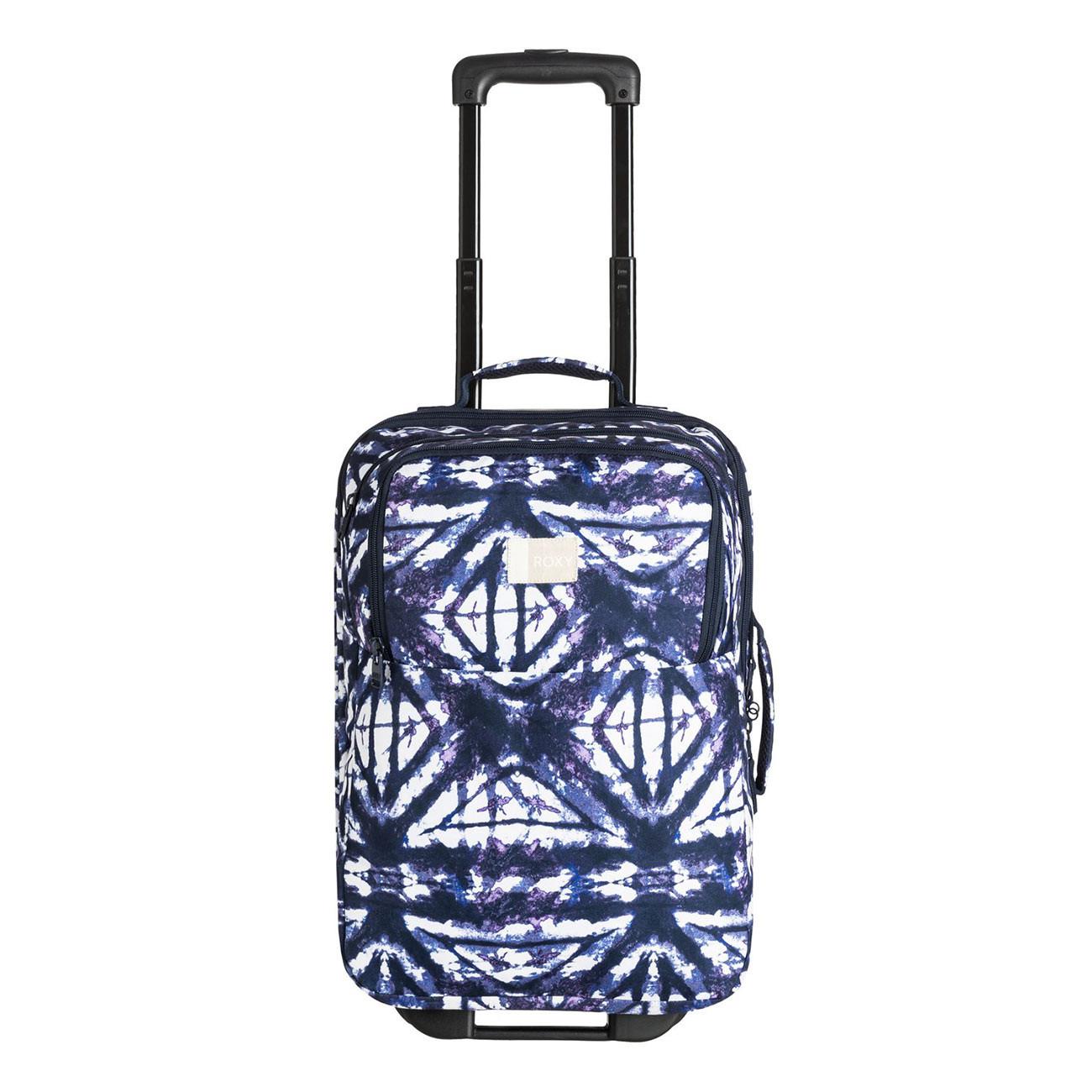 Cestovní taška Roxy Wheelie dress blues geometric feeling