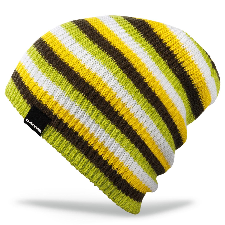 Zimní čepice Dakine Chase yellow/lime