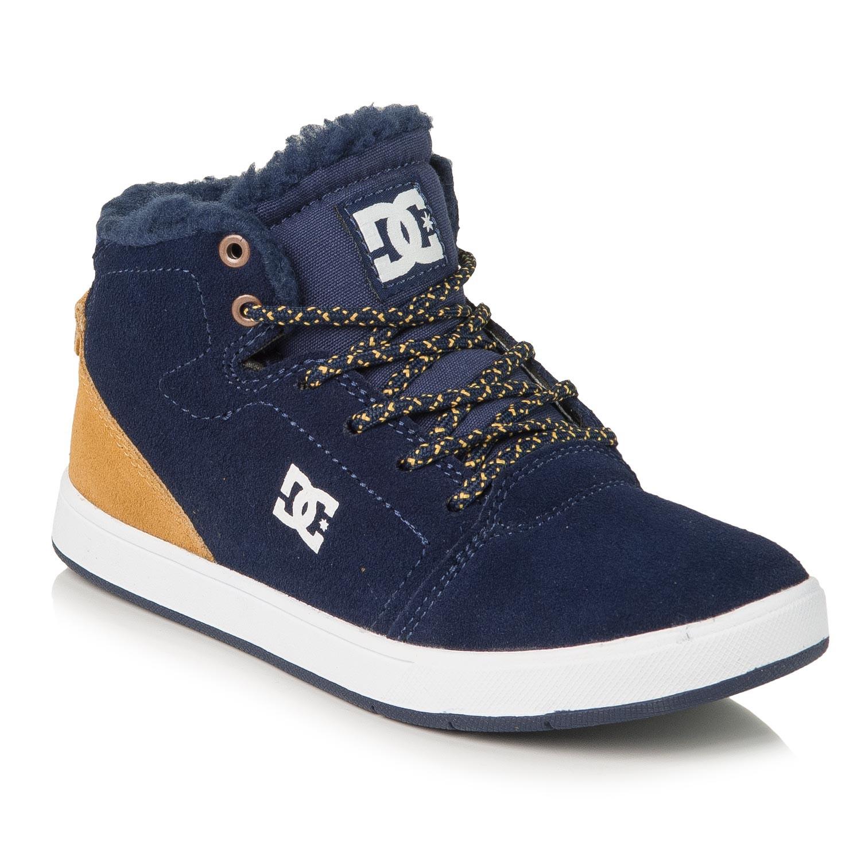 Zimní boty DC Crisis High Wnt B Kid navy/gold