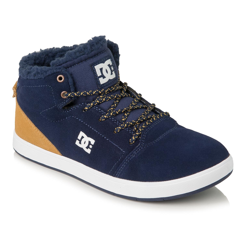 Zimní boty DC Crisis High Wnt B navy/gold