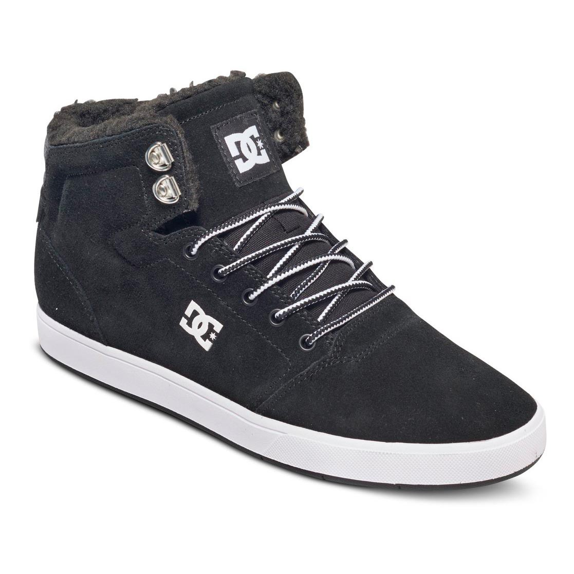 Zimní boty DC Crisis High Wnt black/white