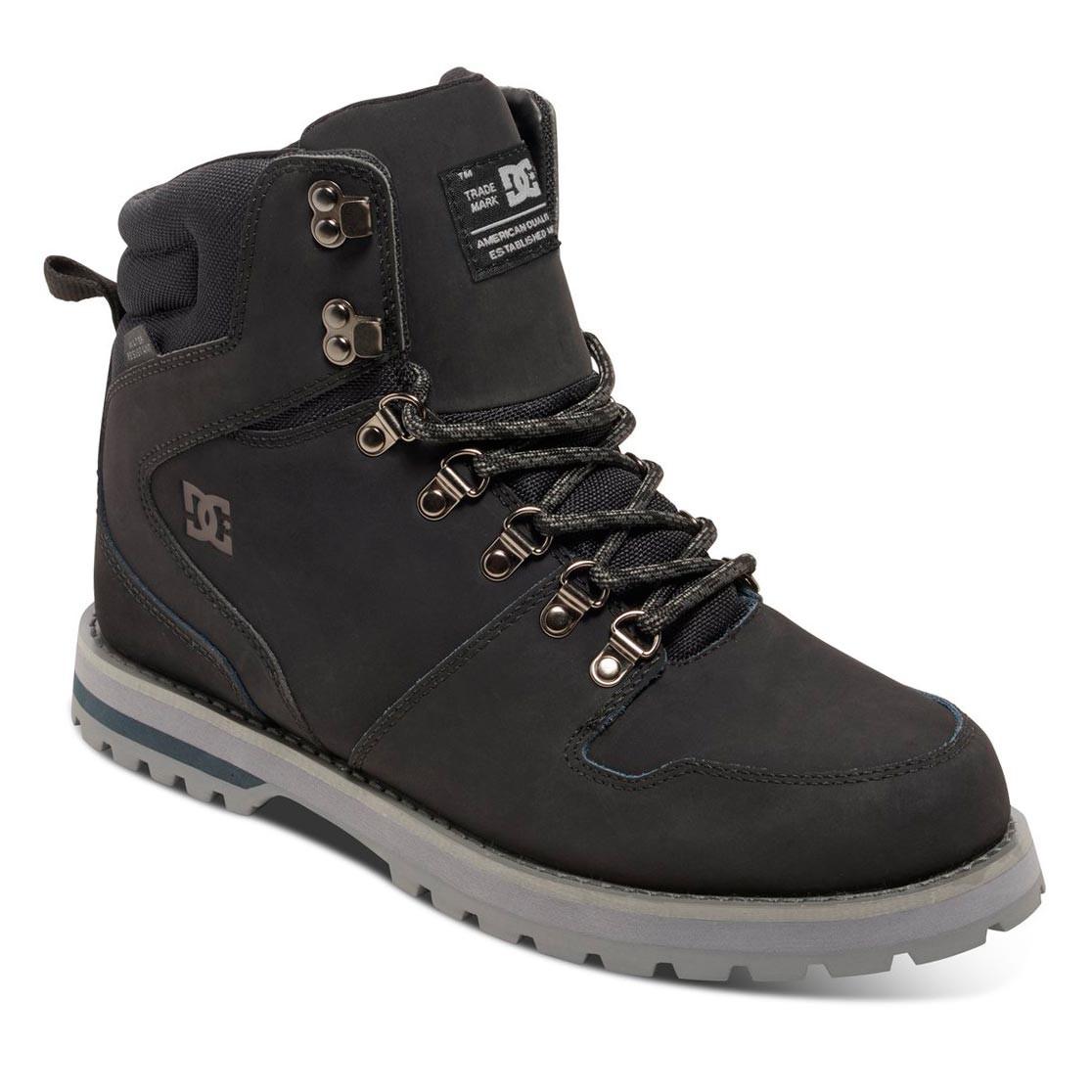 Zimní boty DC Peary grey/black