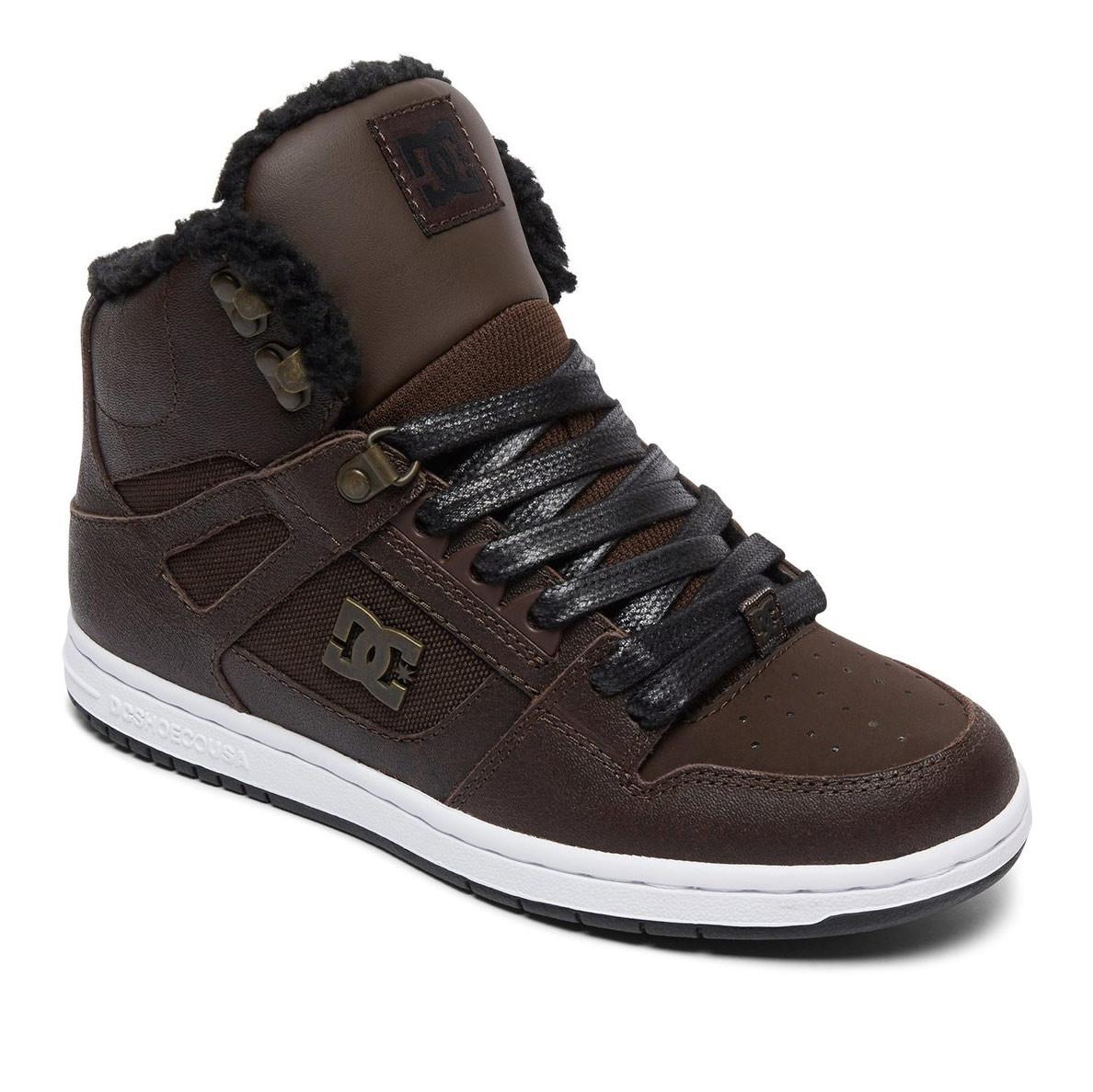 Zimní boty DC Rebound High Wnt Wms brown/chocolate