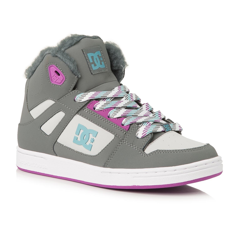 Zimní boty DC Rebound Wnt G grey/blue/blue