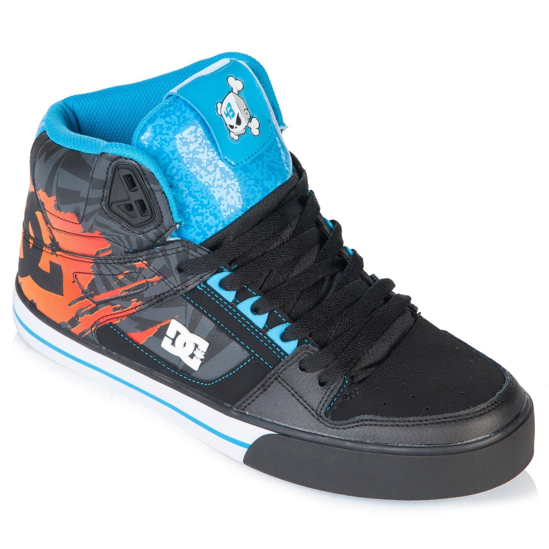 DC Spartan Hi Wc Kb black/turquoise