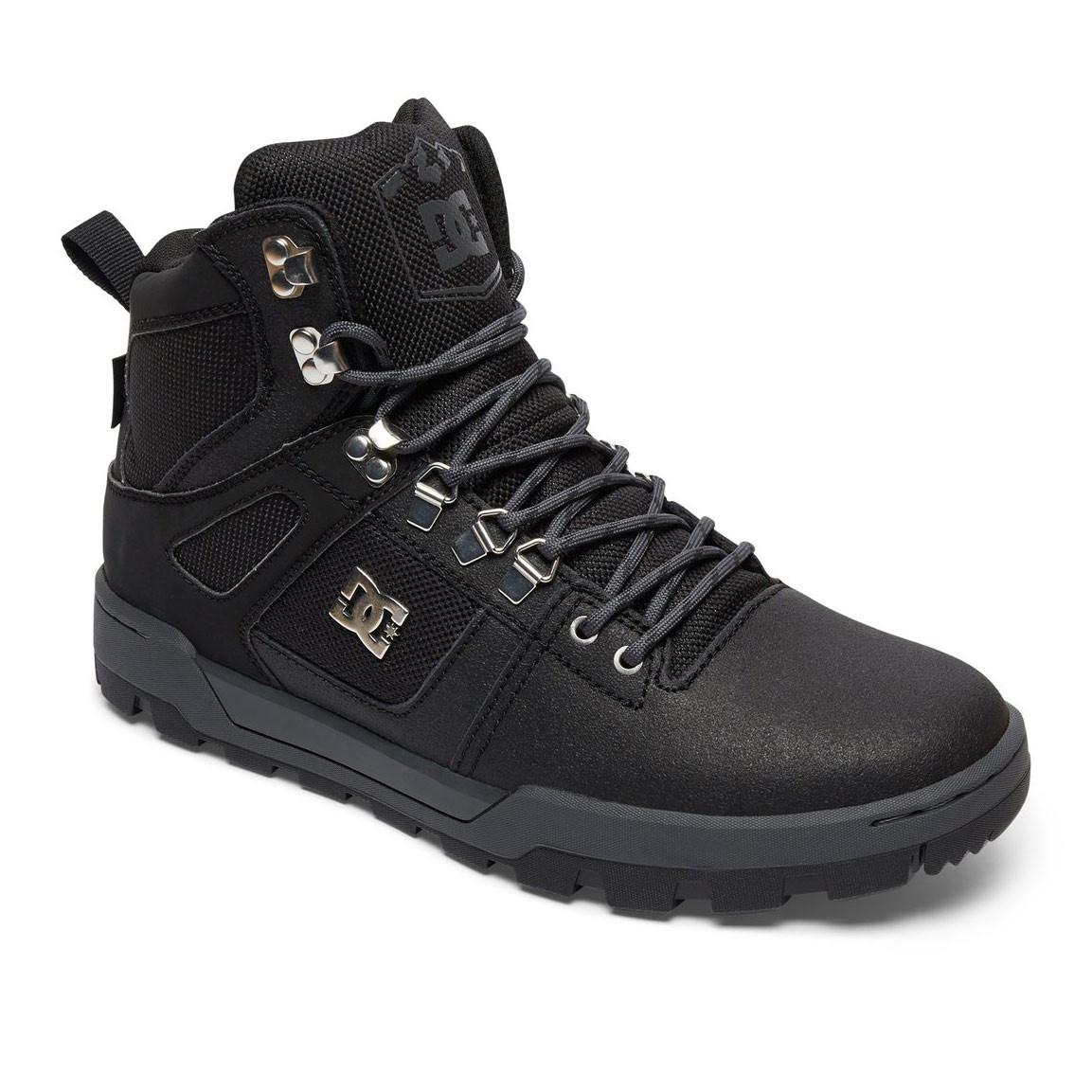Zimní boty DC Spartan High Wr black/black/dk grey