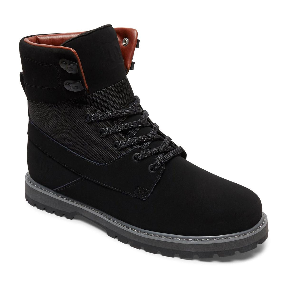 Zimní boty DC Uncas black/black/dk grey