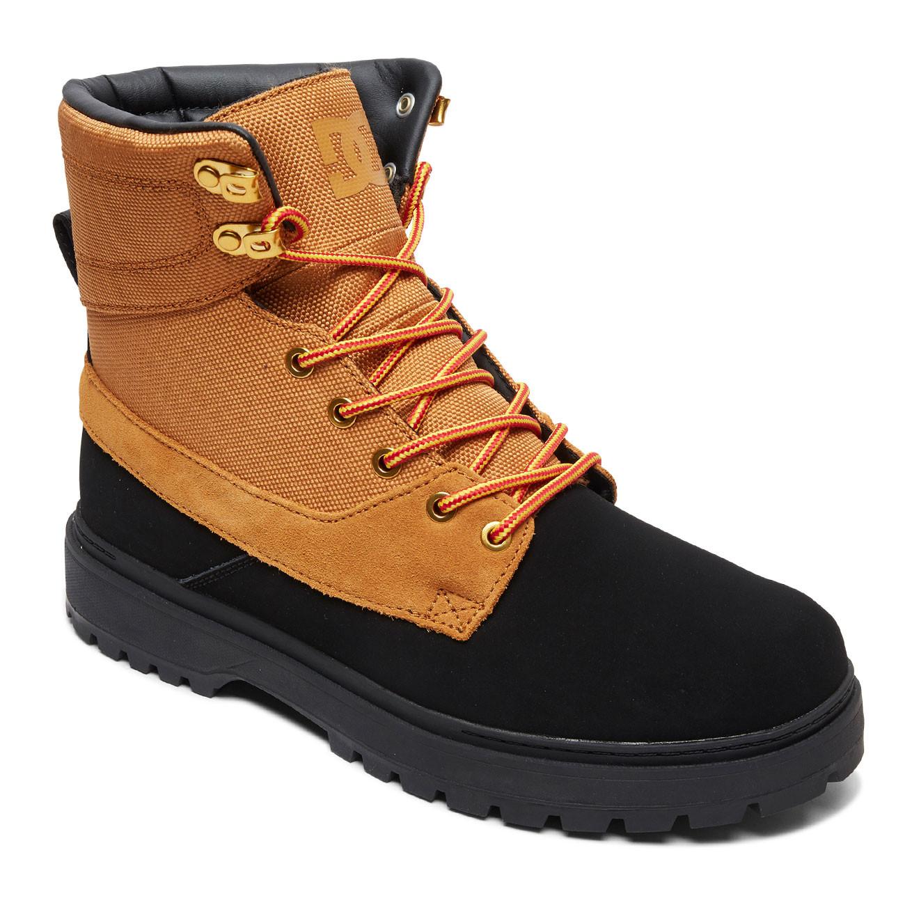 Zimní boty DC Uncas TR black wheat  2dd8271bf4