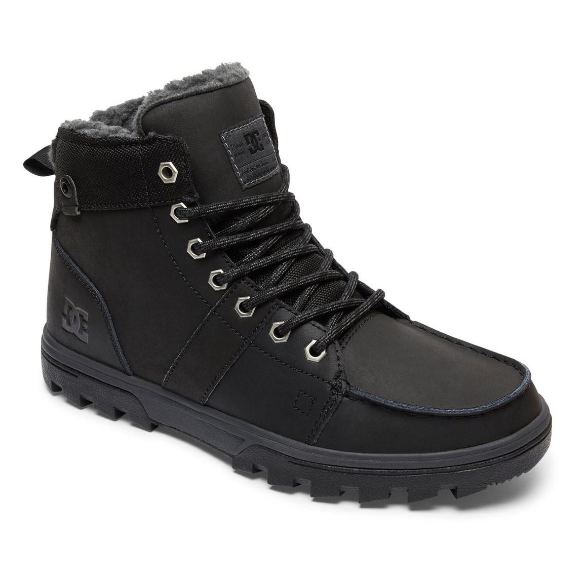 Zimní boty DC Woodland black/black/grey