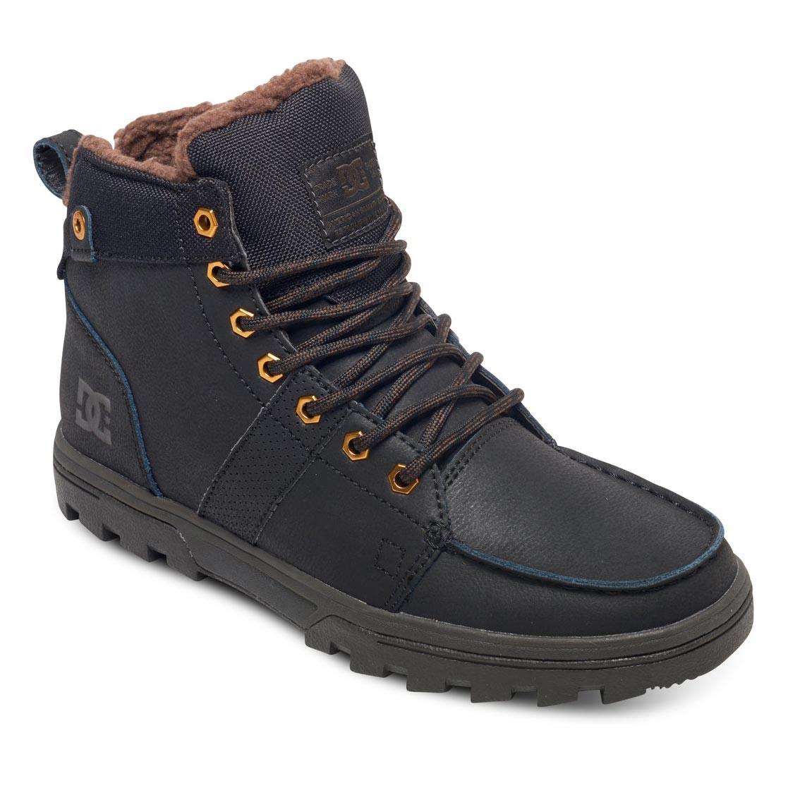 Zimní boty DC Woodland black/camo