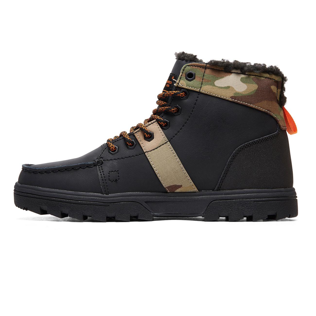 Zimní boty DC Woodland black multi  5807cfe46d