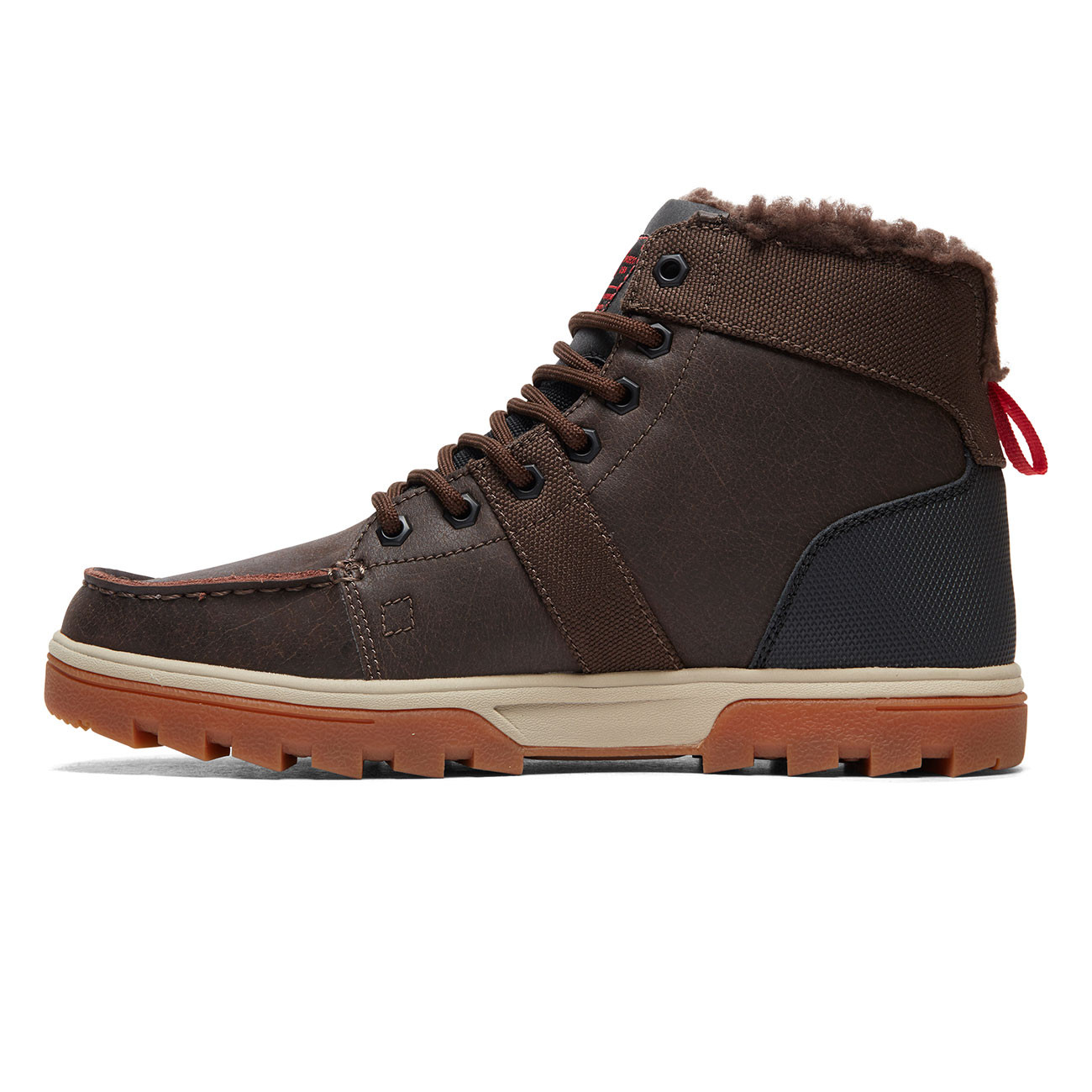 Zimní boty DC Woodland brown green black  941f4dc921