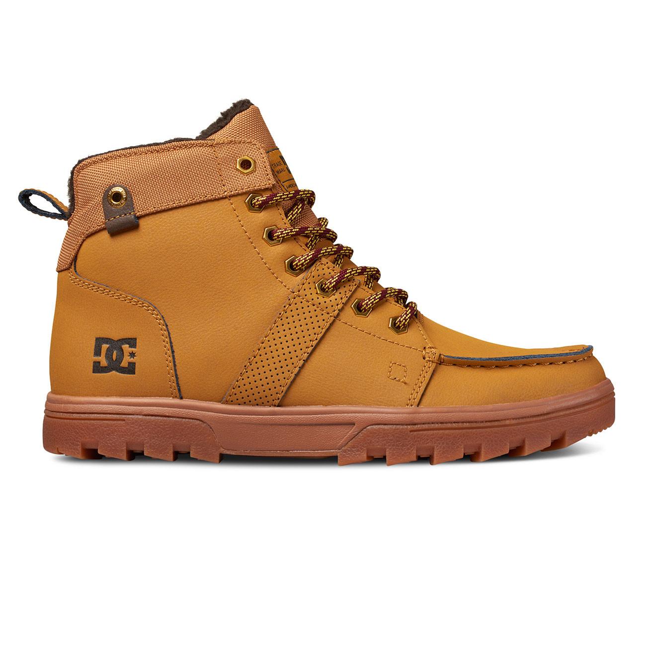 Zimní boty DC Woodland wheat black  86cc9c7989