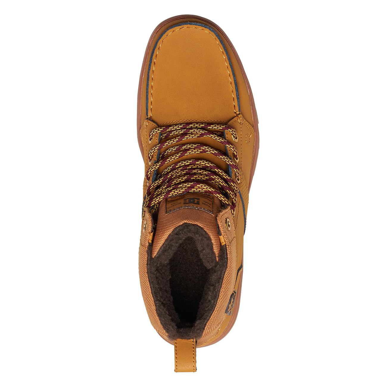 Zimní boty DC Woodland wheat black  c627bd7227