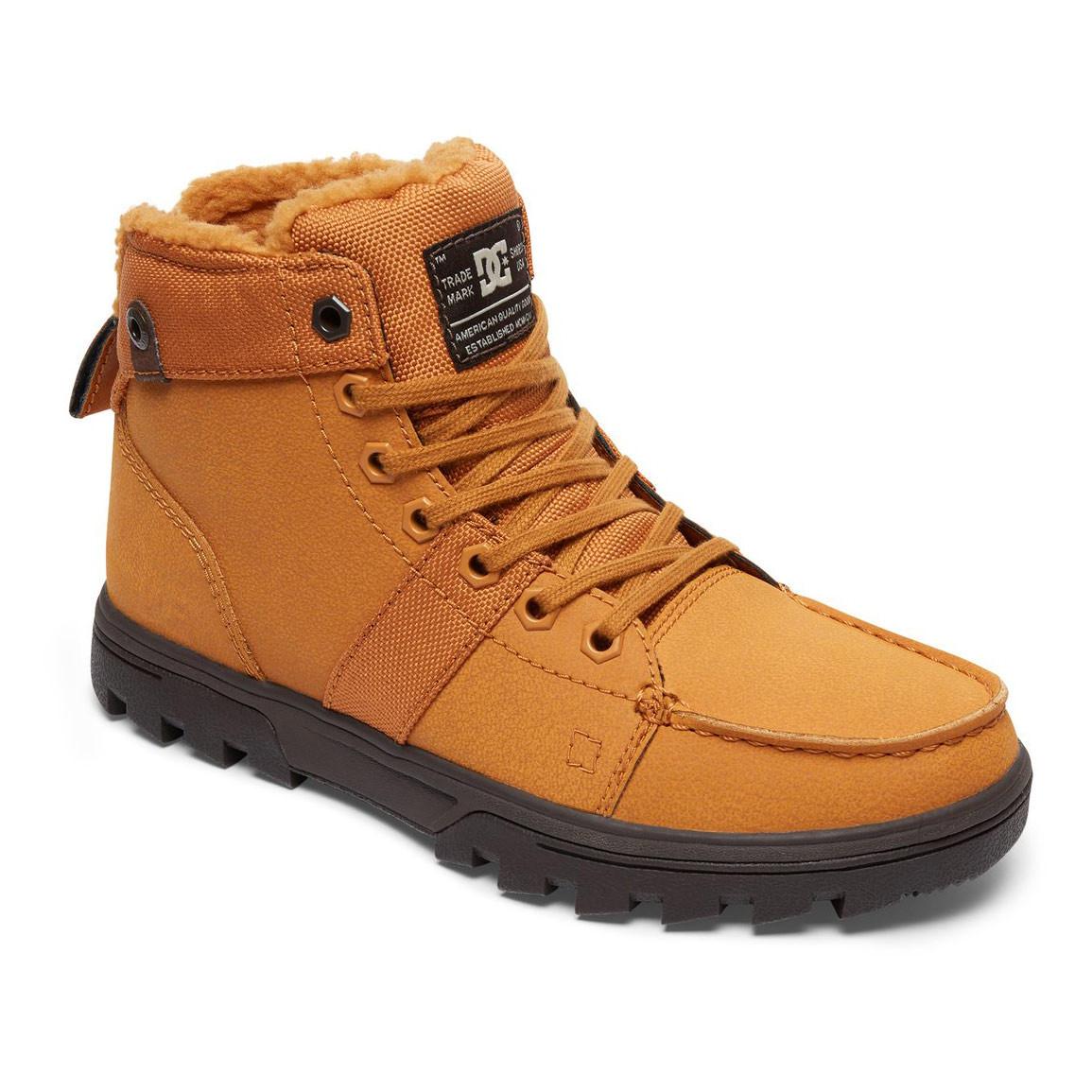 Zimní boty DC Woodland Wms wheat