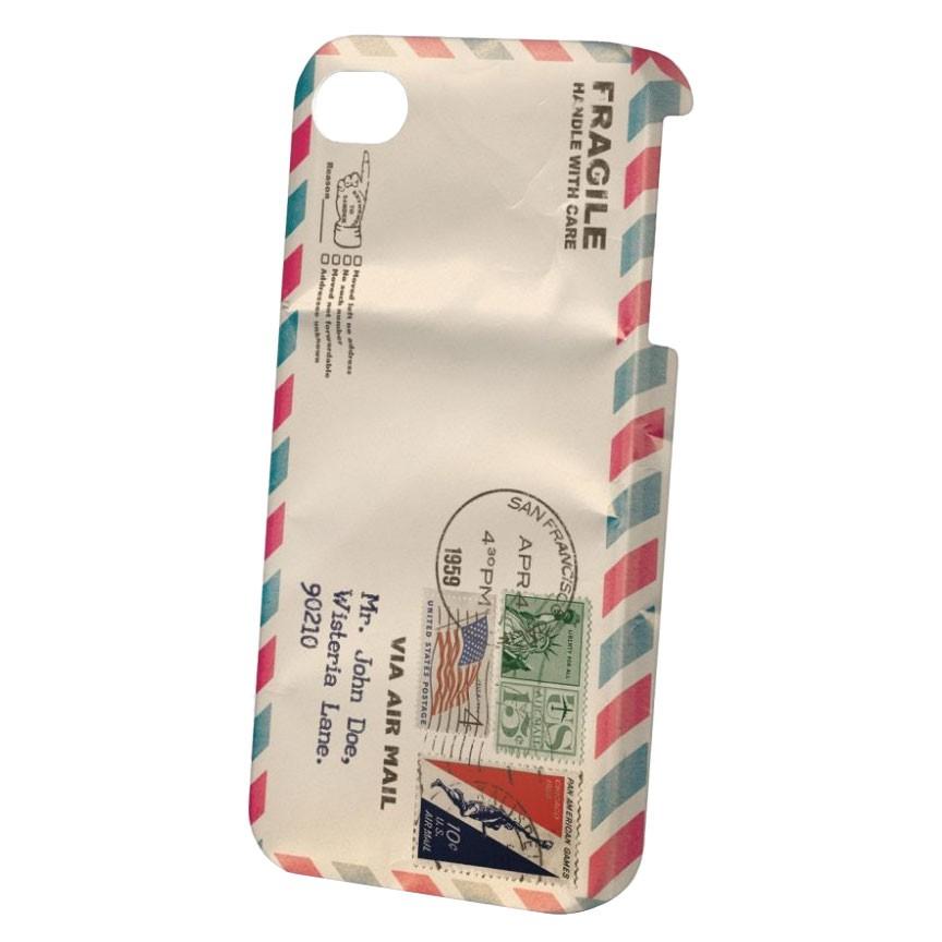 Obal na telefon Dedicated Air Mail Iphone 4 white