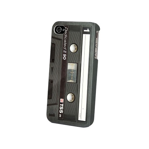 Dedicated Tape Black Iphone 4
