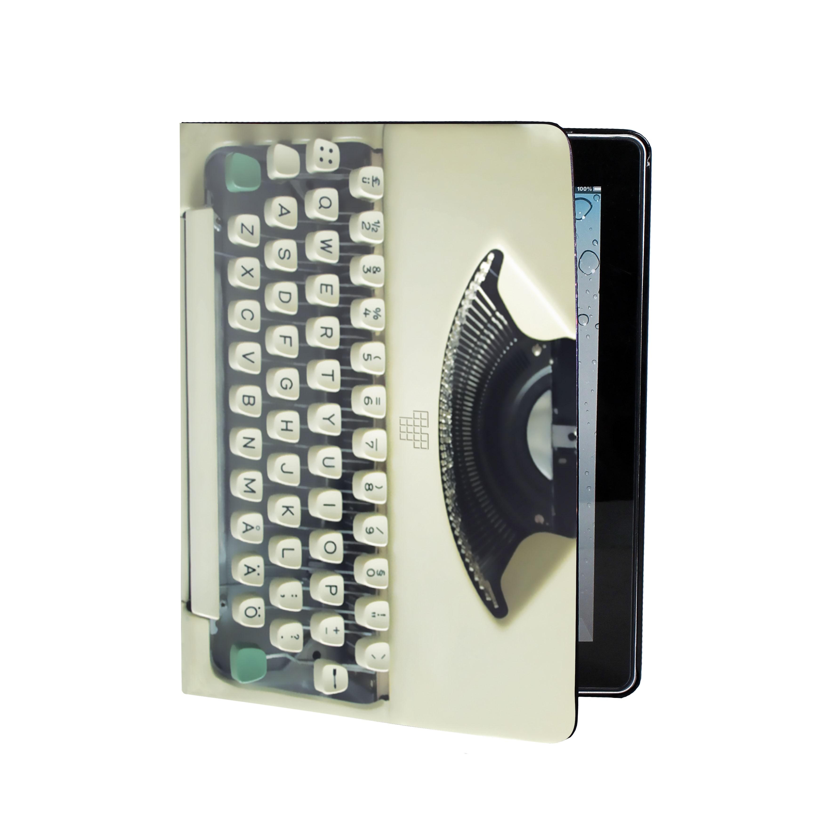 Obal Dedicated Typewriter Ipad Book multi