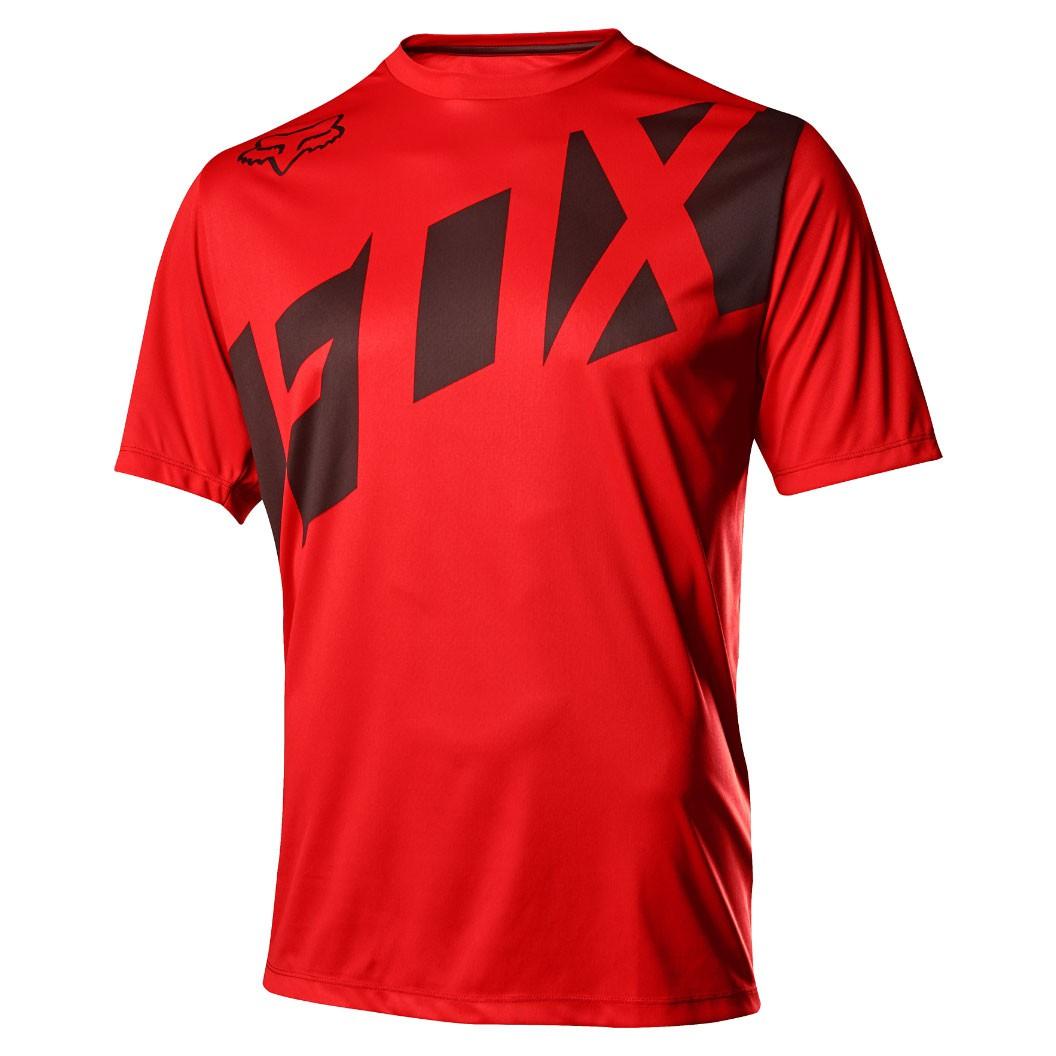 Dres Fox Ranger Ss Jersey red/black